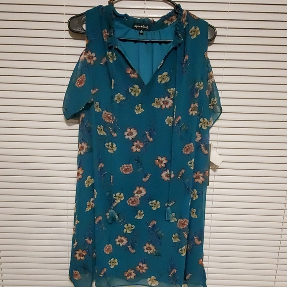 Sequin Hearts Dresses & Skirts - SEQUIN HEARTS DRESS TEAL SIZE SMALL